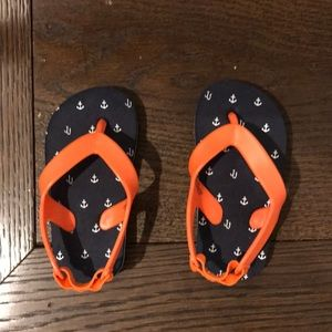 Janie and Jack toddler flip flops
